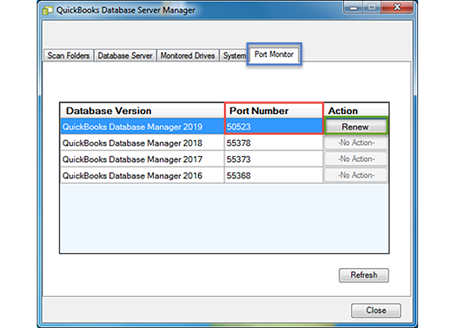 quickbooks database server manager updates