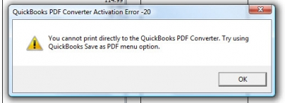 Qb Error Code 20
