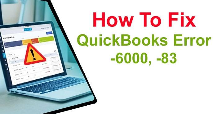 Quickbooks Error 6000 83