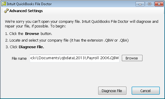 Error H202 Quickbooks