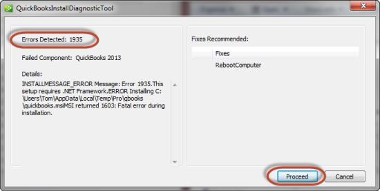 Quickbooks install diagnostic tool
