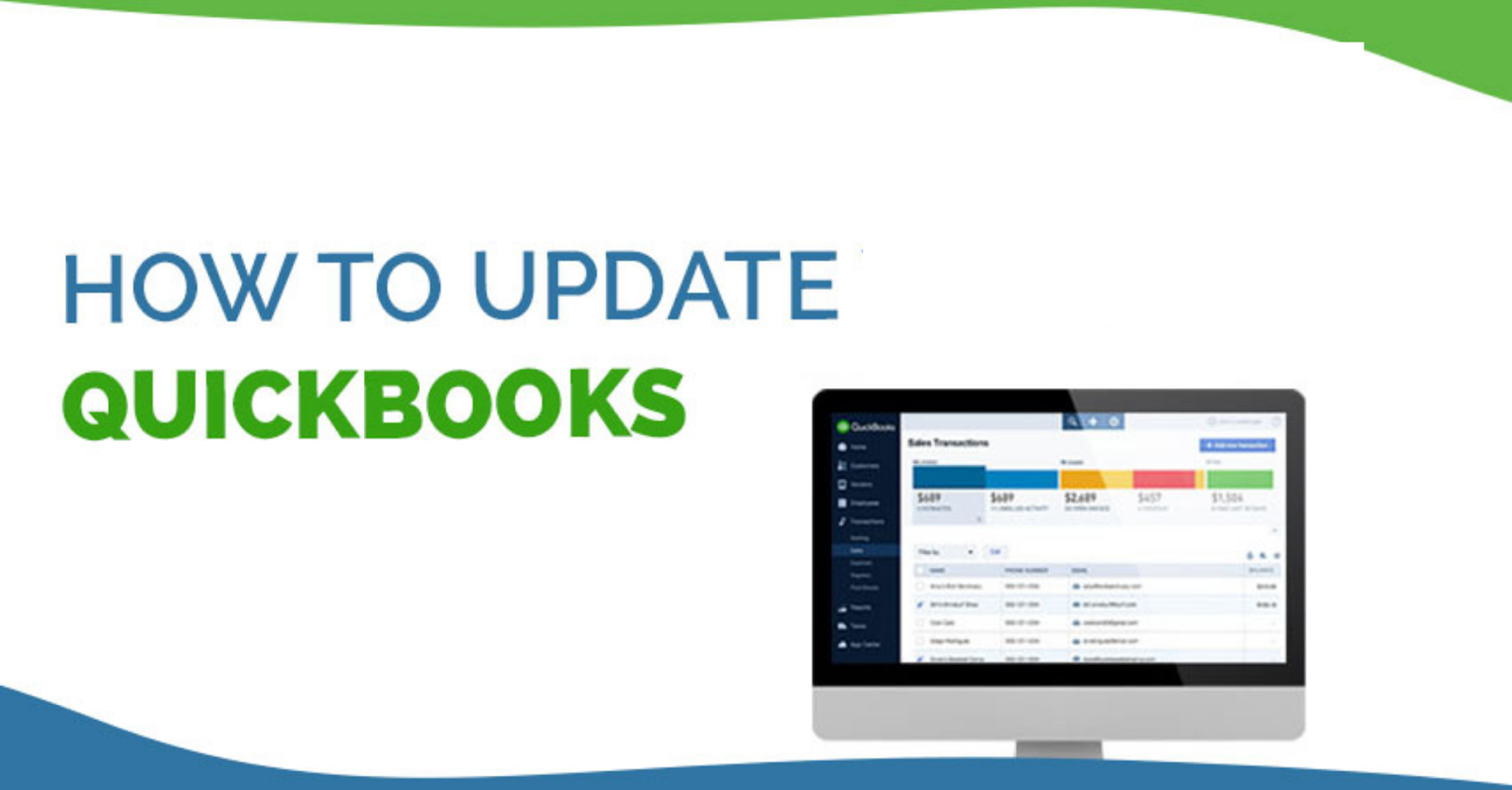 How to update Quickbooks?