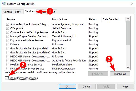 how to fix potential windows update database error detected