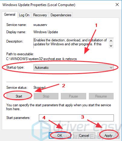 windows update service