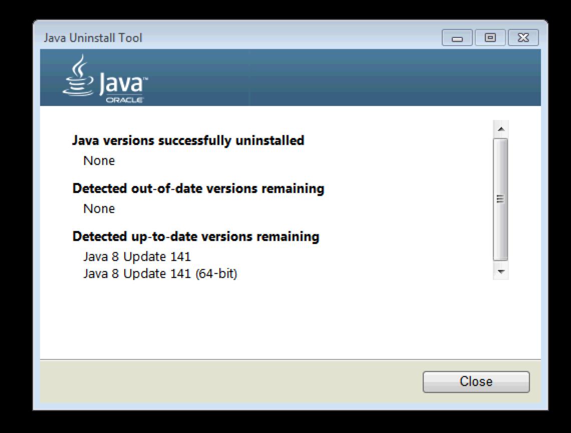 error code 1603 java update