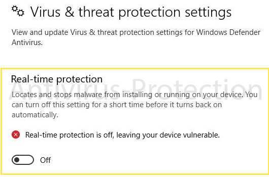 Disable the Anti-Virus Software Using Safe Mode