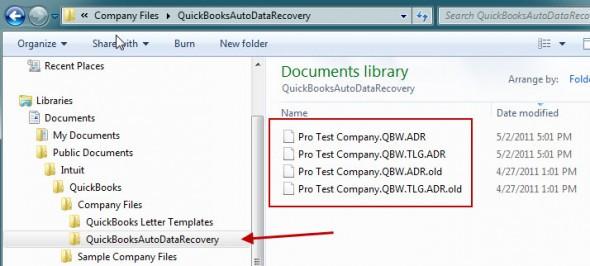 QuickBooks Auto Data Recovery