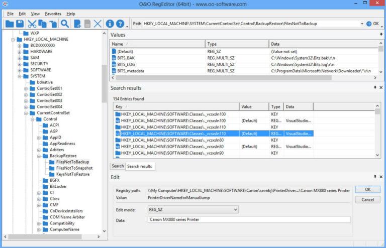 Repairing Registry File and Backup Key
