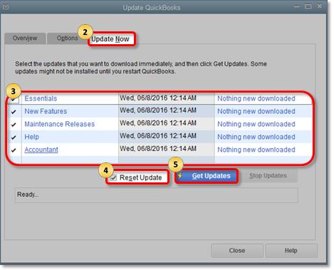 Quickbooks Software Update