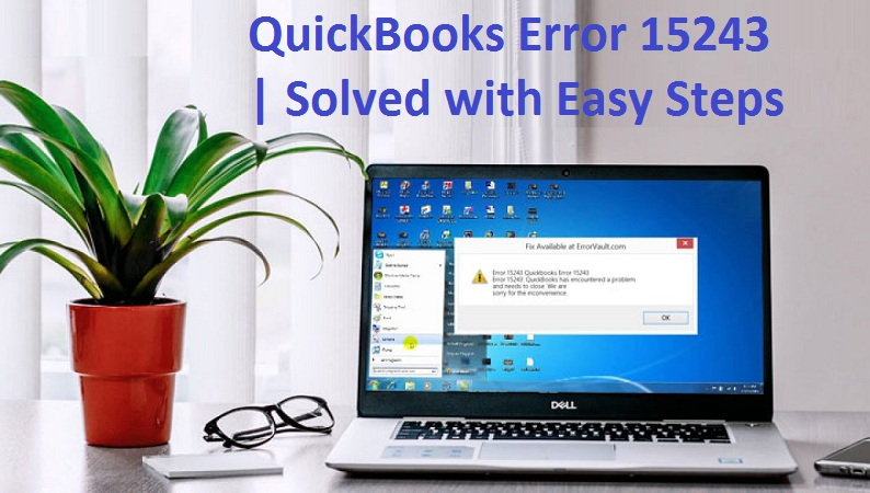 QuickBooks Update Error 15243
