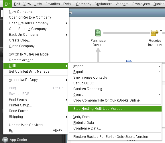 Moving the Quickbooks File To a Different Location