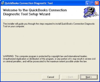 Install Connection QuickBooks Diagnostic Tool
