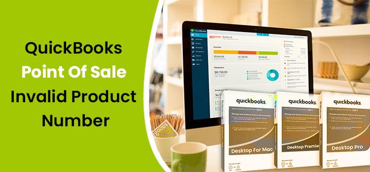 QuickBooks POS Invalid Product Number Error