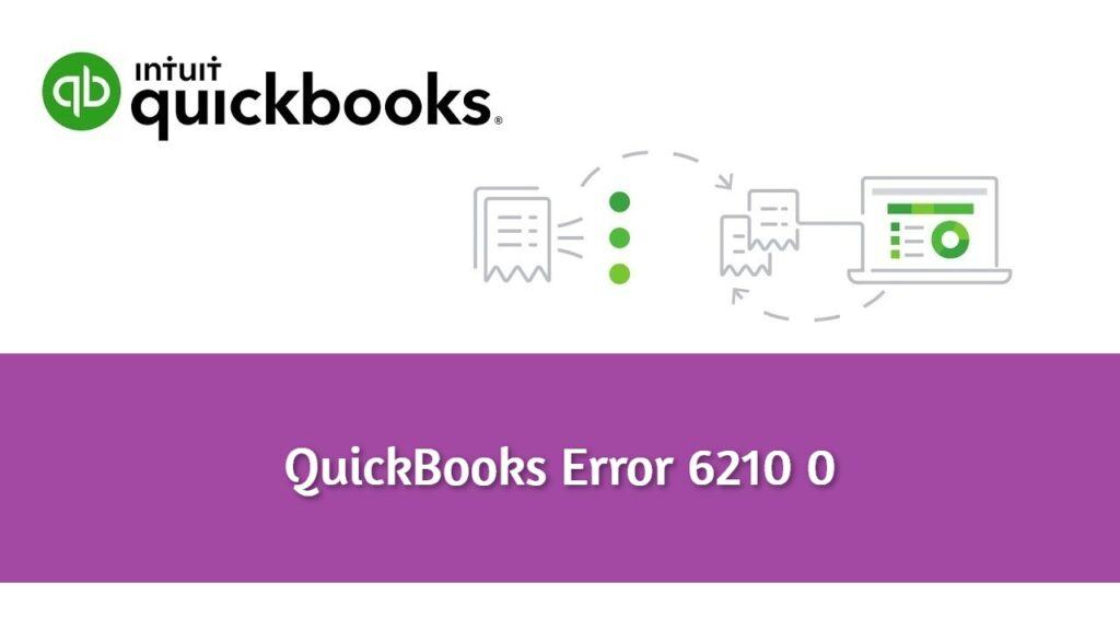 Quickbooks Error 6210