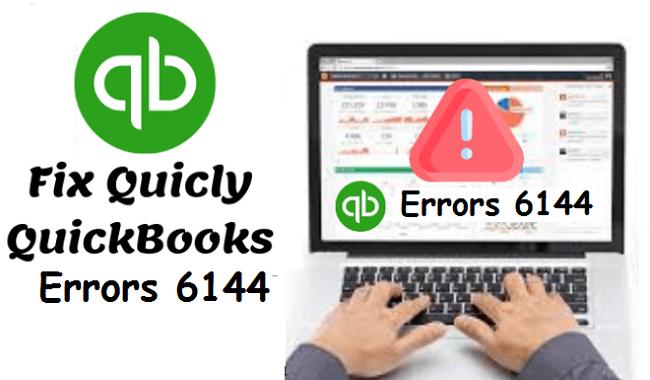 Quickbooks error -6144, -82