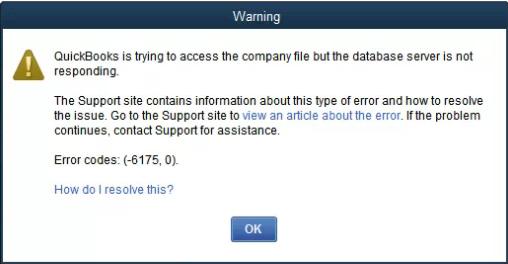 Quickbooks error 6175 0