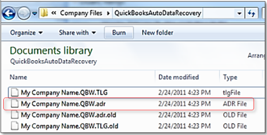 how to restore Quickbooks auto data recovery