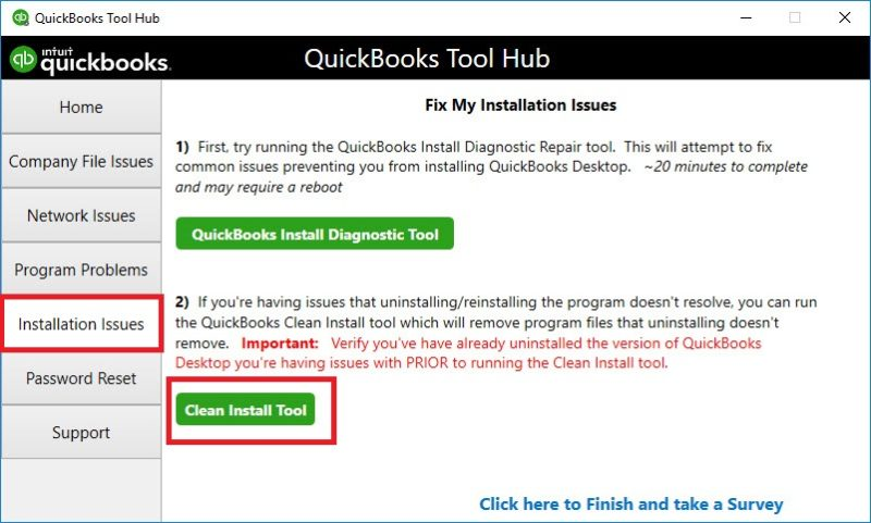 quickbooks 2016 won't open