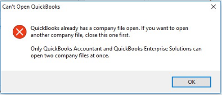 Quickbooks Won't Open